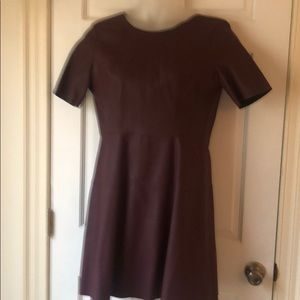 Burgundy dress. Size L. NWT.